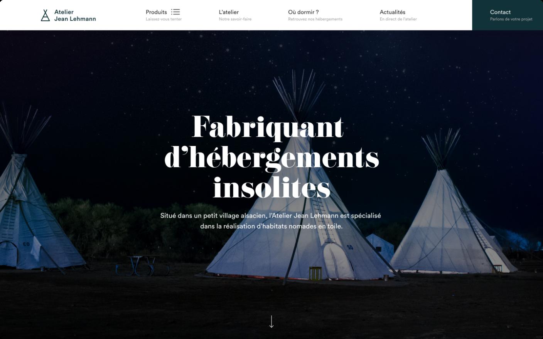 Tipi-Tente home page